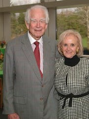 Donald Kendall and his wife, Bim, are shown in this 2004 photo at an event in Westchester.