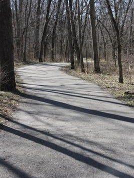 A trail in Greene County