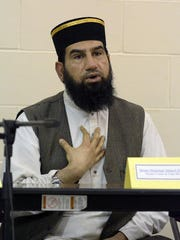 St. Mary's Parish Center in Manahawkin hosted an interfaith group of religious leaders from the Muslim, Jewish and Christian communities for a dialogue about cultural diversity and respect on Wednesday evening. Iman Maqsood Ahmed Quadri of The Islamic Center of Ocean County spoke at the event.