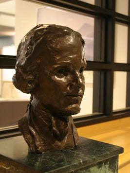 A bust of Stockton University namesake Richard Stockton has been temporarily removed from the school's campus.