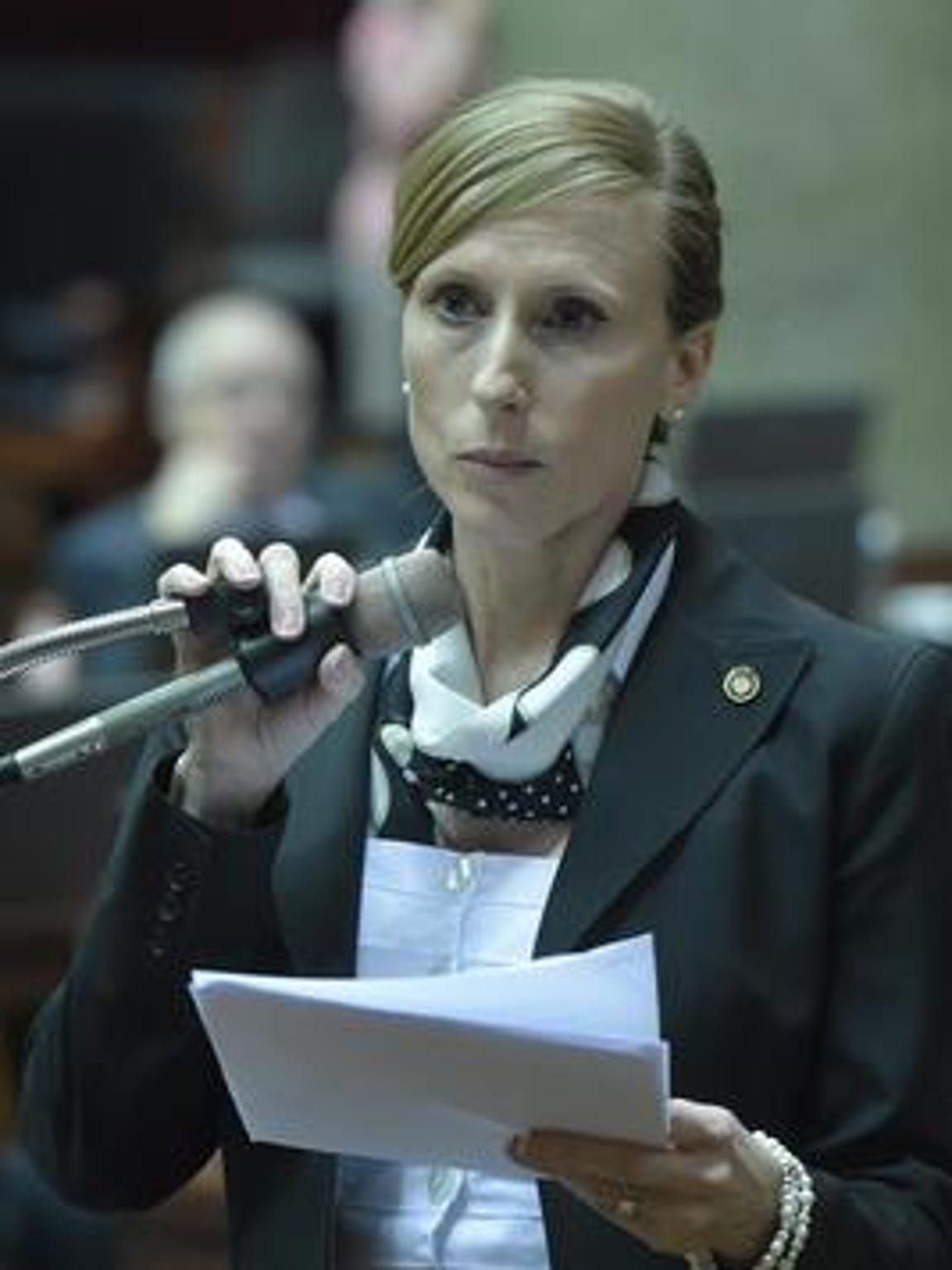 Rep. Holly Rehder is sponsoring a bill that would require sexual education classes to include instruction about consent, sexual harassment and sexual violence.