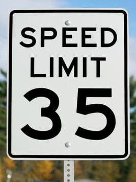 On Thursday, speed limits on three East Brunswick roadways will be reduced.