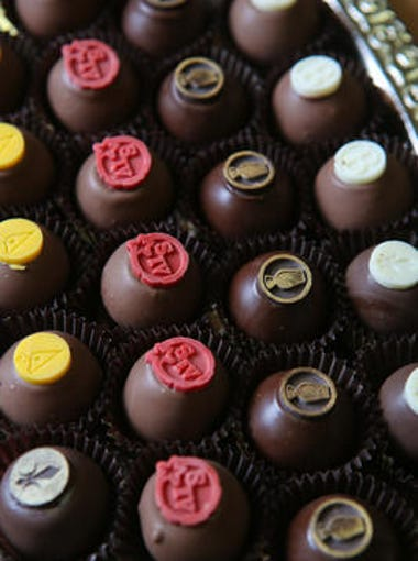 Art Eatables chocolates are made on Fourth Street in