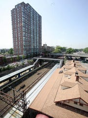 A view of the Rochelle train station on June 3, 2014. New Rochelle is setting out on a major transit-oriented development plan, joining similar, if smaller plans in communities such as White Plains, Yonkers and Harrison.