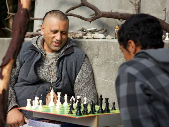 Cliff Curtis stars as Genesis and James Rolleston as
