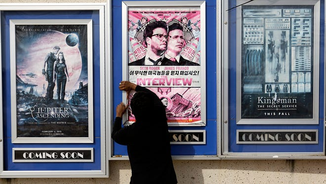 Poster for The Interview.