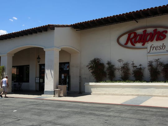 FILE - Ralphs grocery store, seen Monday, May 2, 2016, is located inside The Village at Indian Wells shopping center.