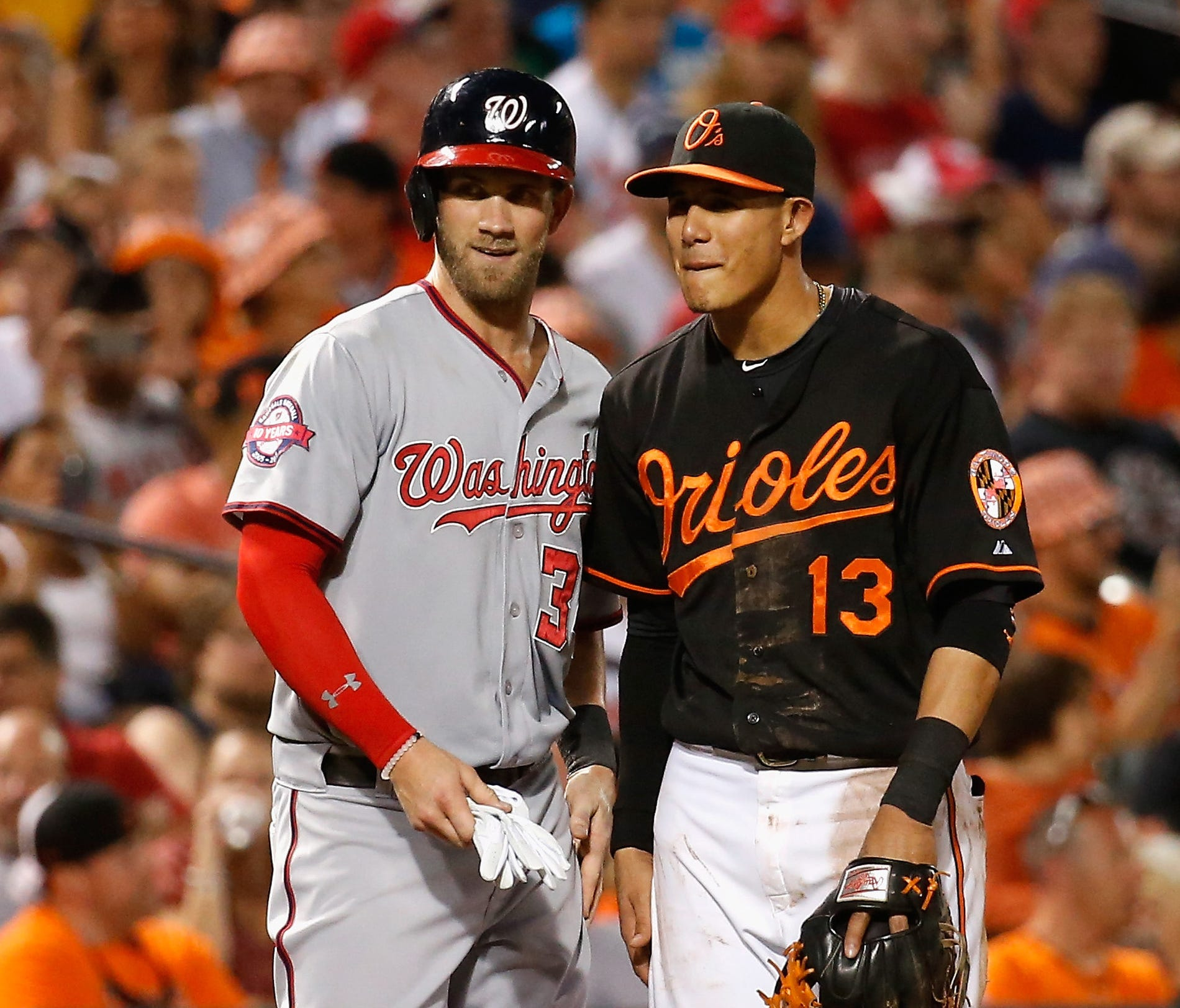 Harper and Machado will become free agents after the 2018 season.