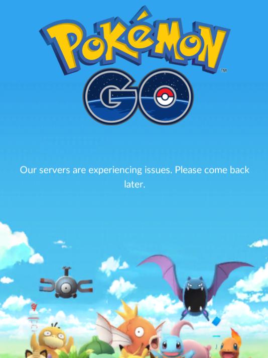 Pokemon Go game play