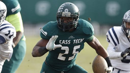 Detroit Cass Tech's Mike Weber wanted to go to Michigan, but ended up at Ohio State when U-M fired Brady Hoke.