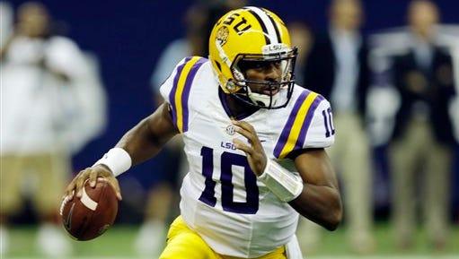 LSU quarterback Anthony Jennings is facing a felony charge.