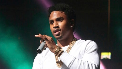 FILE - This Oct. 28, 2016 file photo shows Trey Songz performing during the Power 99 Powerhouse 2016 in Philadelphia. Trey Songz has declined to accept an offer that would have reduced a felony assault charge stemming from a concert appearance in Detroit to a misdemeanor.