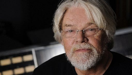 Singer Bob Seger poses for a portrait in a Capitol Records studio on Oct. 16, 2014, in Los Angeles.