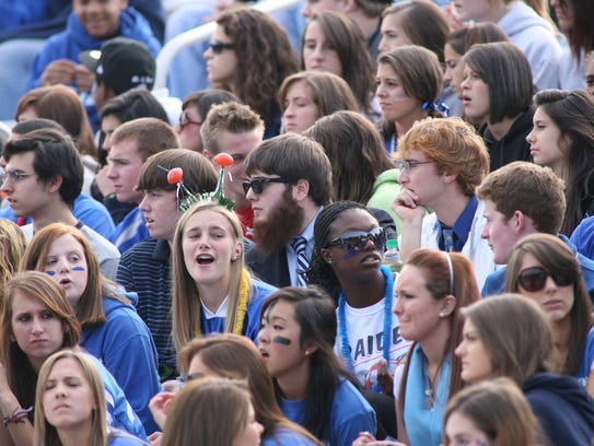 Students at Scotch Plains-Fanwood High School have