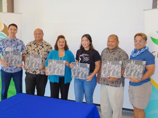 Guam Visitors Bureau President and CEO Nathan Denight,