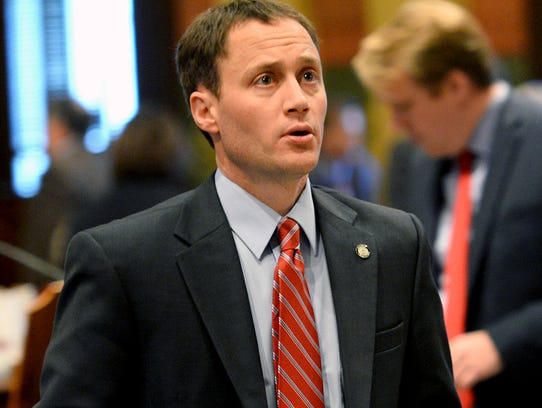 State Rep. Tom Leonard, R-DeWitt, is seen in this 2016