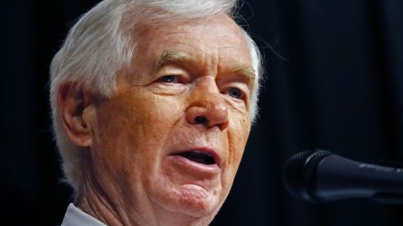 """<p><b>May 15: </b>Cochran's lawyers contact police, <a href=""""https://www.clarionledger.com/story/news/politics/2014/05/17/cochran-wife-nursing-home-arrest/9211639/"""">according to the Madison Police Department's initial release</a>. Police begin investigating.</p>"""