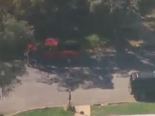 Red pick-up truck in Auburn believed carjacked by two