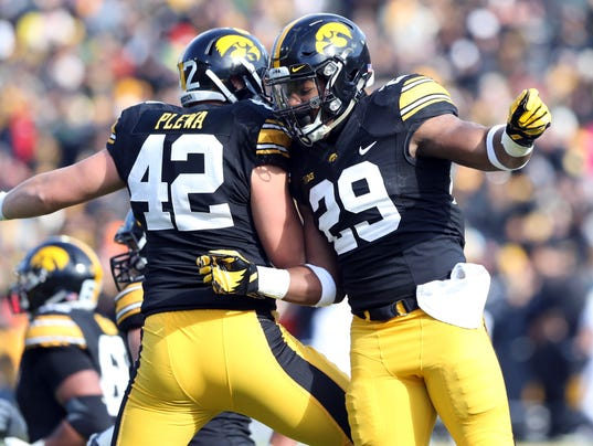 NCAA Football: Purdue at Iowa