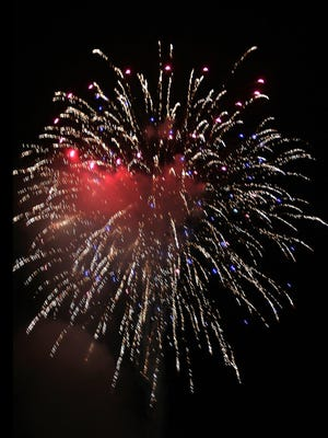 The festival is off, but fireworks are on the schedule in Gnadenhutte.