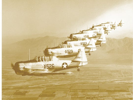 The first training class of 45 students at Luke Air