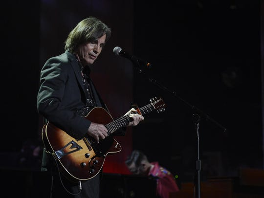 Jackson Browne performs during the Americana Music Honors and Awards show on Sept. 17, 2014, in Nashville, Tennessee.