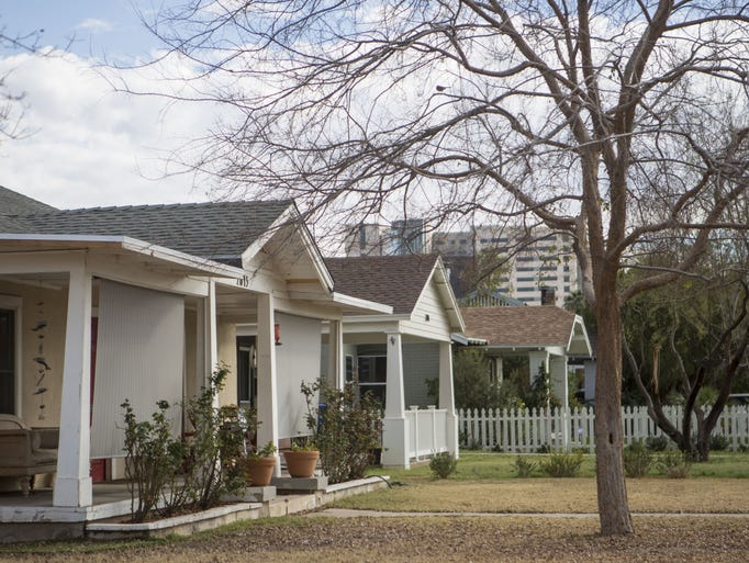 The Coronado Historic District is pictured on Feb.