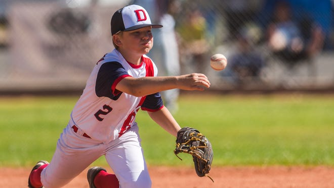 Dixie Little League, seen here in the state championship game in June, fell in the West Region opener Aug. 6, 2018, in San Bernardino, California.