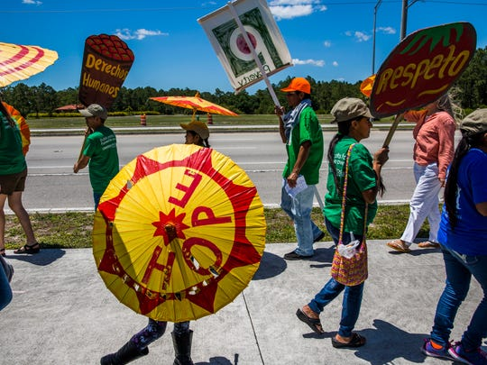 Protesters call for Publix to join the Coalition of