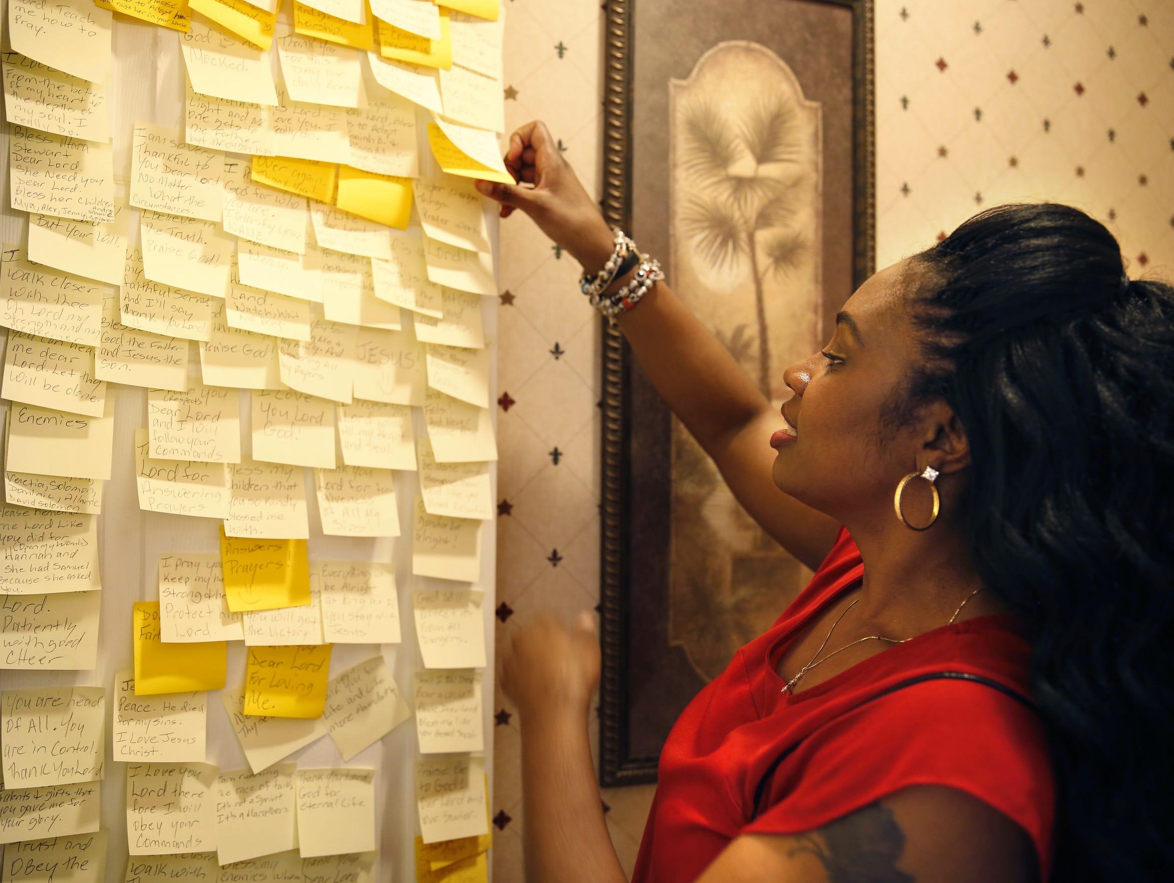 """Lorraine Nichols shows off her """"prayer room"""" Dec 11."""