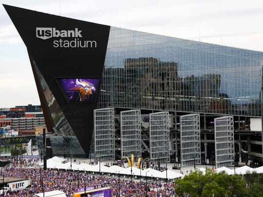 Minnesota's U.S. Bank Stadium will host Super Bowl