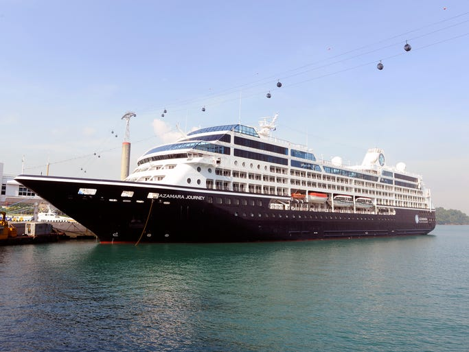Azamara Club Cruises features a Jazz Brunch, which is held during a sea day.