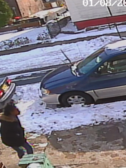 Police are seeking to question two females seen near