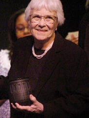 Author Harper Lee.