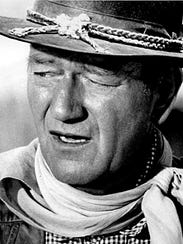 John Wayne's frequent portrayals of cowboy characters