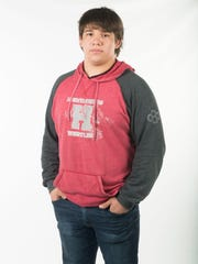 Javier Salvador, Heritage High School wrestling. Tuesday,