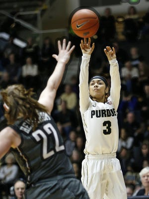 Tiara Murphy looks to take over the point guard duties for the Purdue women's basketball team