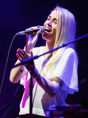 Hannah Reid will perform with London Grammar on Feb. 2 at Deluxe in Old National Centre.