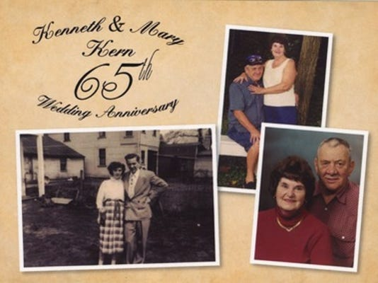 Anniversaries: Kenneth Kern & Mary Kern