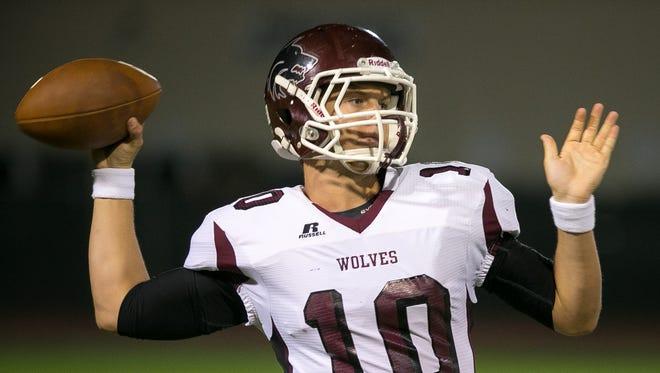 Ex-Scottsdale Desert Mountain quarterback Kyle Allen is one of 19 former Arizona high school quarterbacks in the NCAA football program.