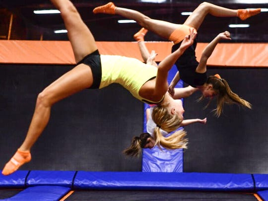 Airborne at Sky Zone!