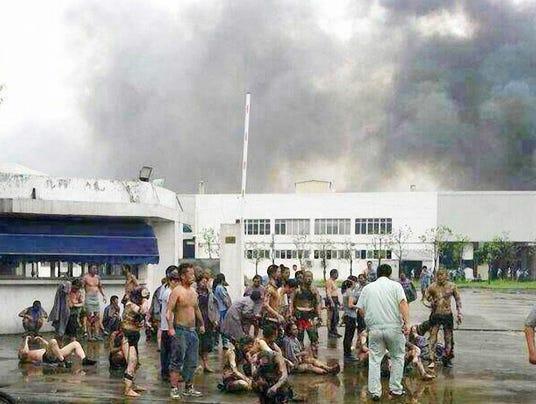 Explosion at GM supplier in China kills 68, injures 187