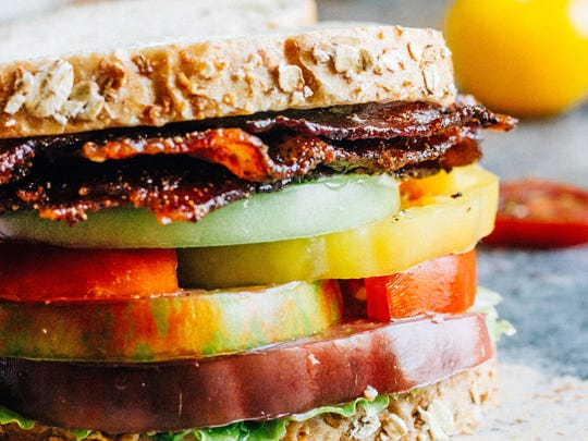 These BLTs capitalize on summer's colorful, flavor-packed