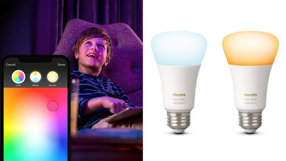 Hue lights transform your home into a wonderland.