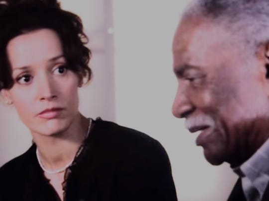 Jennifer Beals and Ossie Davis in the Showtime series,