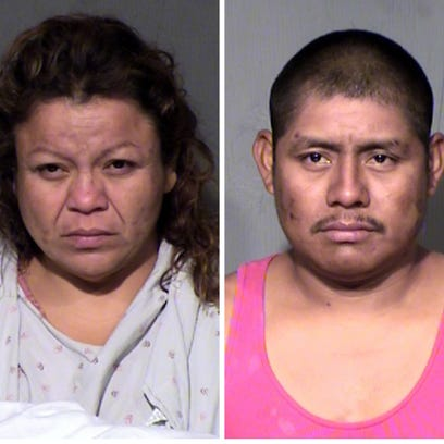 A Surprise couple in jail on charges of abusing and