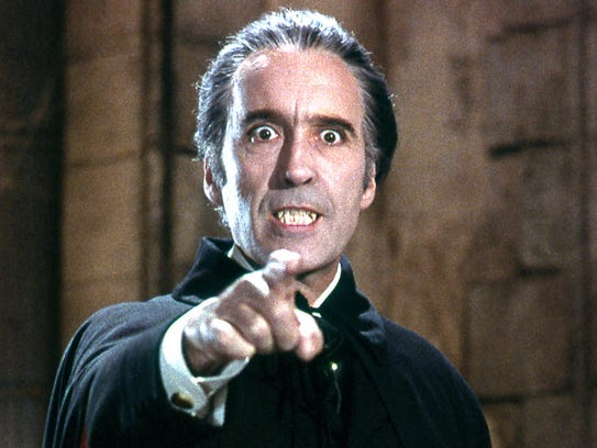 Christopher Lee – that's SIR Christopher Lee to you