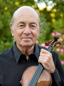 Acclaimed violinist Jack Glatzer returns to the Morgan Hall for a 2 p.m. concert on Saturday.