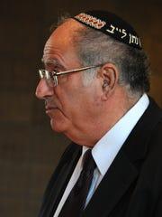 Cantor Neil Schwartz of Shreveport's Agudath Achim Synagogue.