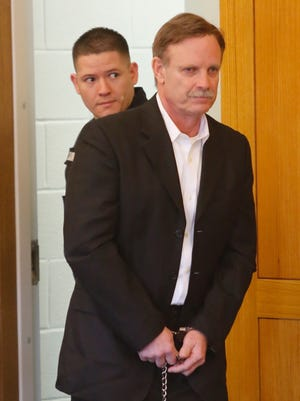 Richard O'Keefe, 59, appears in Putnam County Court on Feb. 16, 2017. He is accused of driving drunk in a fatal Mahopac crash in 2015.